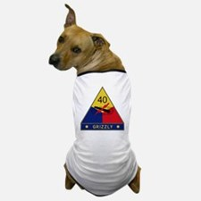 40th Armored Division - Grizzly Dog T-Shirt