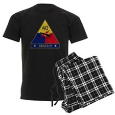 40th Armored Division - Grizzl Pajamas