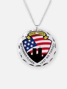 9-11 World Trade Center Amer Necklace