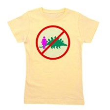 woman dinosaur shirt Girl's Tee