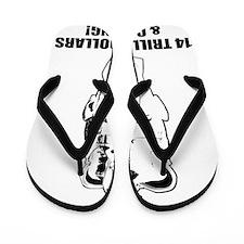 king obama 14 B Flip Flops