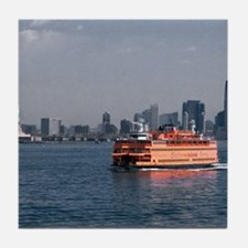 (2) Staten Island Ferry Tile Coaster