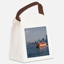 (2) Staten Island Ferry Canvas Lunch Bag