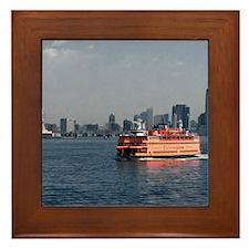 (2) Staten Island Ferry Framed Tile