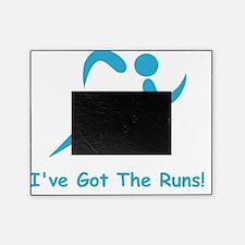Got The Runs Blue Picture Frame