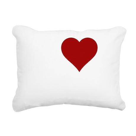 iheartbacon2 Rectangular Canvas Pillow