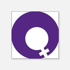 "International Womens Day Square Sticker 3"" x 3"""
