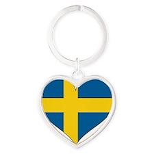 Heart-Plain Heart Keychain