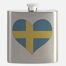 Heart-Plain Flask