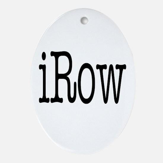 iRow big Oval Ornament