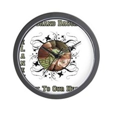 Our Grand Daughter Wall Clock
