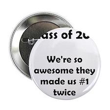 "Class of 2011 Black Font 2.25"" Button"