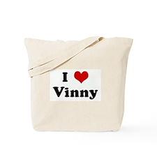 I Love Vinny Tote Bag