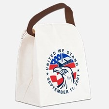 9-11 Eagle Head World Trade Cente Canvas Lunch Bag