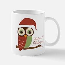 Baby's 1st Christmas Santa Owl Mug