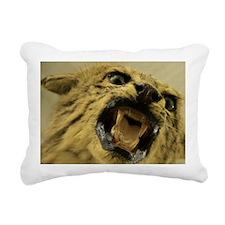 cat_6x4_pcard Rectangular Canvas Pillow