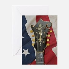 iPhone4_Slider_Gibson_Flag_Distant Greeting Card