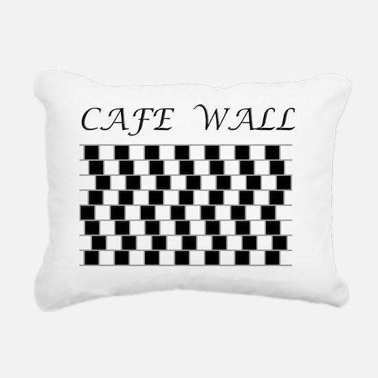cafe Rectangular Canvas Pillow