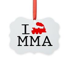 I Train MMA - light Ornament