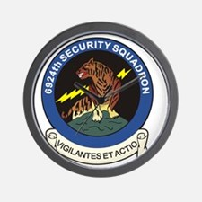 6924th Security Squadron Wall Clock