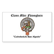 Clan MacKinnon Gaelic Decal