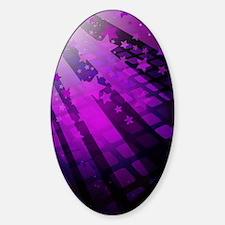 Purple Tile Stars Decal