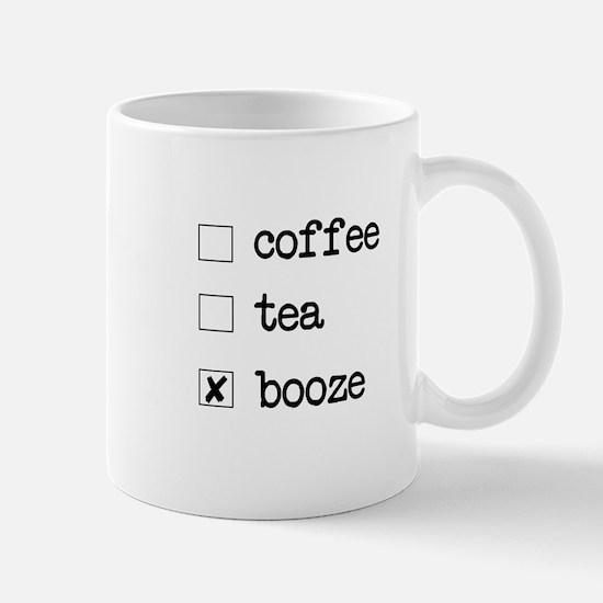 Booze Mug Mugs