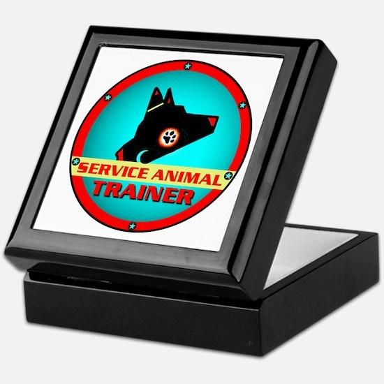 Service Animal Trainer, Keepsake Box