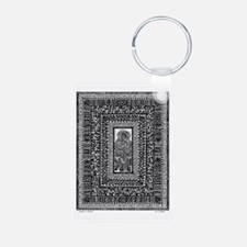Flower in Fringes-1 Keychains