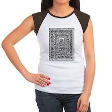 Flower in Fringes-1 Women's Cap Sleeve T-Shirt