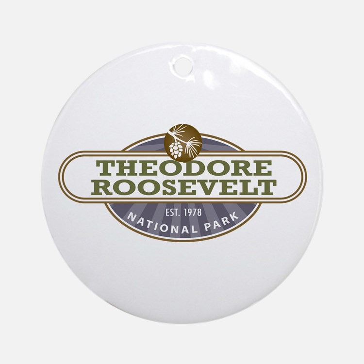 Theodore Roosevelt National Park Ornament (Round)