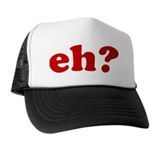 Eh BB Red Trucker Hat