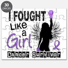 I Fought Like A Girl 26S Hodgkins Lymphoma Puzzle