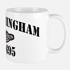 birmingham black letters Mug