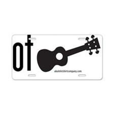 Got Ukulele Aluminum License Plate