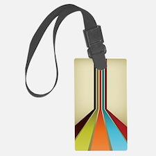 Retro Stripes (4G slider) Luggage Tag