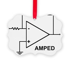 op amp 4 Ornament