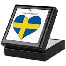 SwedeHeart-sq Keepsake Box