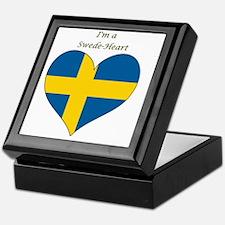 SwedeHeart-sq Keepsake Box