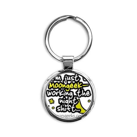 Moongeeks [Night Shift](WT-MI)-11.0 Round Keychain