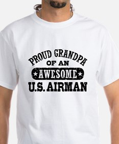 Proud Grandpa of an Awesome US Airman Shirt
