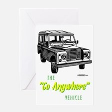 land-rover-series-go-anywhere Greeting Card