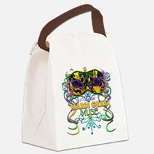 MGmaskMuseFaTR Canvas Lunch Bag