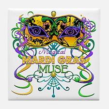 MGmaskMuseFaTR Tile Coaster