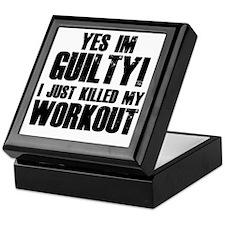 workout-b Keepsake Box