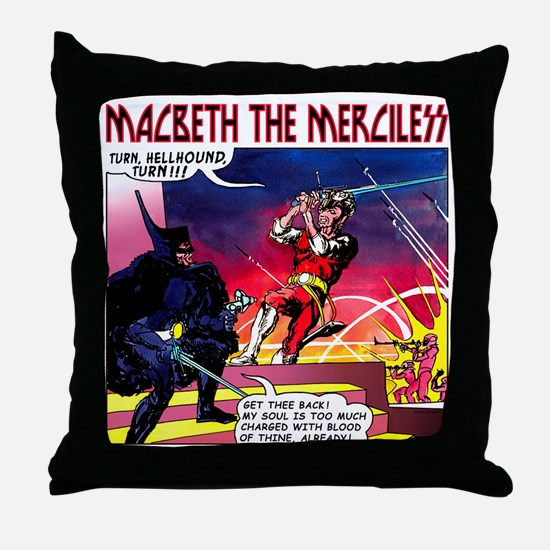 Macbeth_3 Throw Pillow
