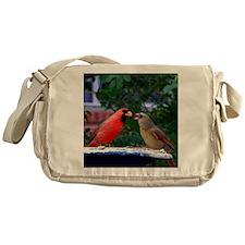 LoveBirdsPil Messenger Bag