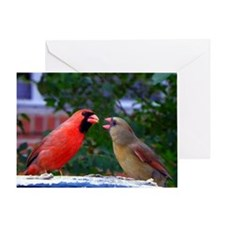 LoveBirdsPP Greeting Card