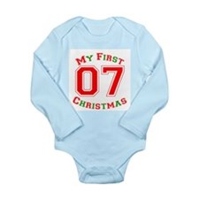 My First Christmas 07 Body Suit