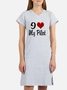 pilotheart Women's Nightshirt